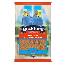 Bucktons Special Budgie Food 20kg