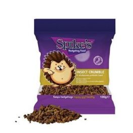 Spike's Dinner Insect Crumble Hedgheog Treat 100g