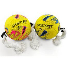 Sportspet Football Small Dog Toy