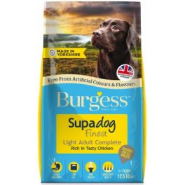 Burgess Supadog Finest Adult Light Chicken Dog Food 12.5kg