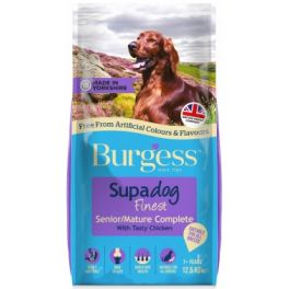 Burgess Supadog Mature Chicken Dog Food 12.5kg