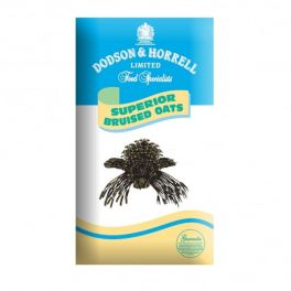 Dodson & Horrell Superior Bruised Oats Horse Food 20kg