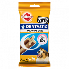 Pedigree Dentastix 7 sticks for Small Dogs (5-10kg) Dog Treats