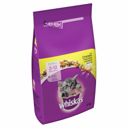 Whiskas Dry Kitten Food 2-12 Months with Chicken 2kg