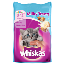 Whiskas Milky Kitten Treats 2-12 Months 55g