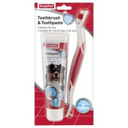 Beaphar Toothbrush and Toothpaste set for Dogs and Cats