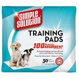 Simple Solution Puppy Training Pads (2 Pack Sizes Available)