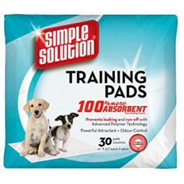 Simple Solution Puppy Training Pads x 14