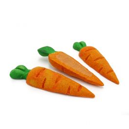 Rosewood Treat 'N' Gnaw Carrots 3 Pack Small Animal Treats