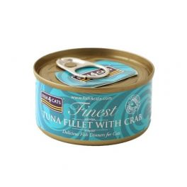 Fish4Cats Finest Tuna Fillet with Crab Cat Food