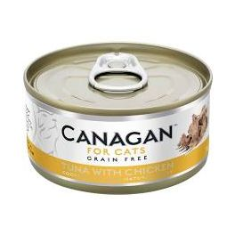 Canagan Tuna with Chicken Wet Cat Food Tin 75g