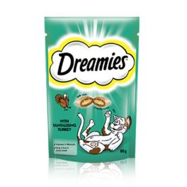 Dreamies Cat Treats with Turkey 60g