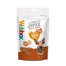 Webbox Tasty Jerxx Rich in Turkey Dog Treat 60g