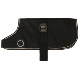 Outhwaite Black Waterproof Dog Coat