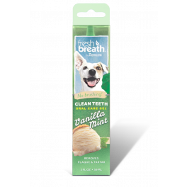 Tropiclean Fresh Breath Oral Care Gel Vanilla Mint for Dogs 59ml