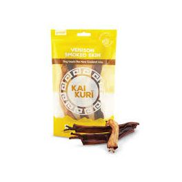 Kai Kuri Smoked Venison Skin Dog Treat 50g