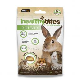 VetIQ Nutri Care Healthy Bites Small Animal Treats 30g