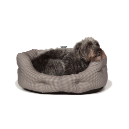 Danish Design Vintage Dogstooth Slumber Dog Bed