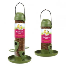 Harrisons Flip Top Mealworm Bird Feeder 22cm
