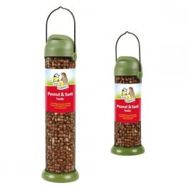 Harrisons Flip Top Peanut & Suet Pellet Bird Feeder