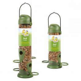 Harrisons Flip Top Seed Bird Feeder 22cm