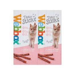 Webbox Tasty Sticks with Salmon and Trout Cat Treats x 6