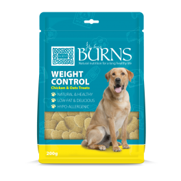 Burns Weight Control Chicken and Oat Dog Treats 200g