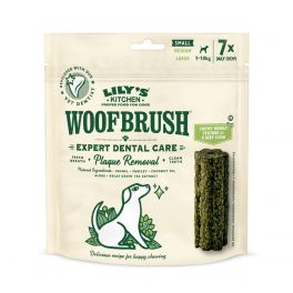 Lily's Kitchen Woofbrush Natural Dental Chews Dog Treats Small
