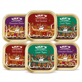 Lily's Kitchen World Dishes Wet Dog Food Trays 6x150g