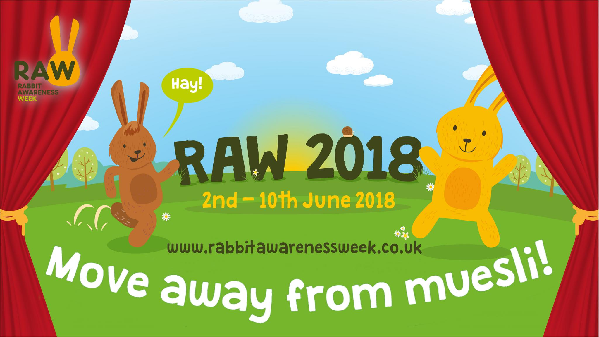 Rabbit Awareness Week 2018 - Guest Post