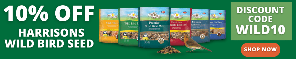10% off Harrisons Wild Bird Food