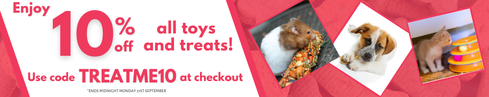 10% off Toys & Treats