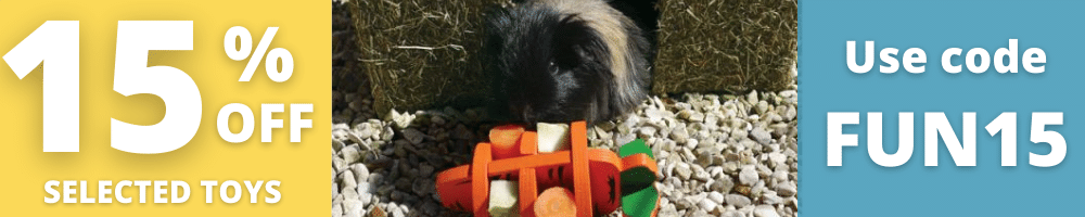 15% off selected Small Animal toys